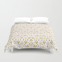 Geometric Diamond repeating Duvet Cover