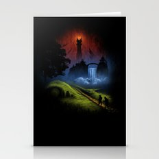 Over The Hill - The Lord Of The Rings Stationery Cards
