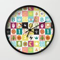 ABC123 Wall Clock