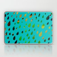 IT RAINED ALL DAY- BLUE Laptop & iPad Skin