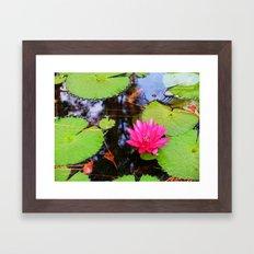 Screensaver Framed Art Print