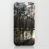 iPhone & iPod Case featuring shadows & reflections by jillian bogarde