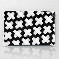 Black Xxx iPad Case