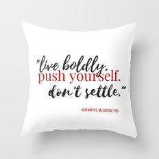 2 ME BEFORE YOU WHITE Throw Pillow