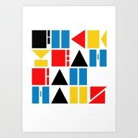 Fuck Yeah Bauhaus! Art Print