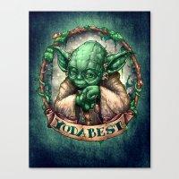 YoDaBeSt Canvas Print