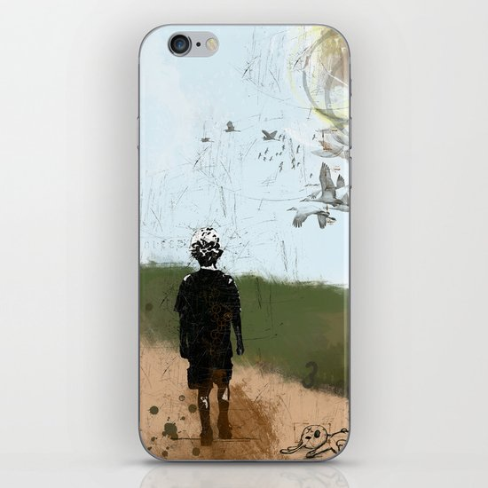 Walk Into My World iPhone & iPod Skin