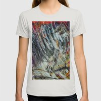 Unbrevitus Womens Fitted Tee Silver SMALL