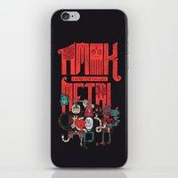 Amok And Totally Metal iPhone & iPod Skin