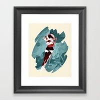 Kickass Annie Framed Art Print