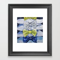 Bow Tie For All Occasion… Framed Art Print