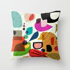 Overlap Throw Pillow