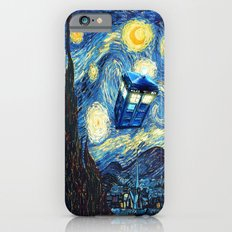 Soaring Tardis doctor who starry night iPhone 4 4s 5 5c 6, pillow case, mugs and tshirt iPhone 6 Slim Case