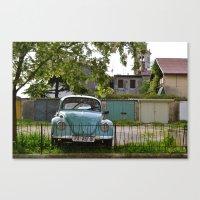 Vintage Volkswagon Canvas Print