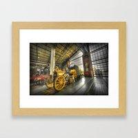 Stephenson's Rocket  Framed Art Print