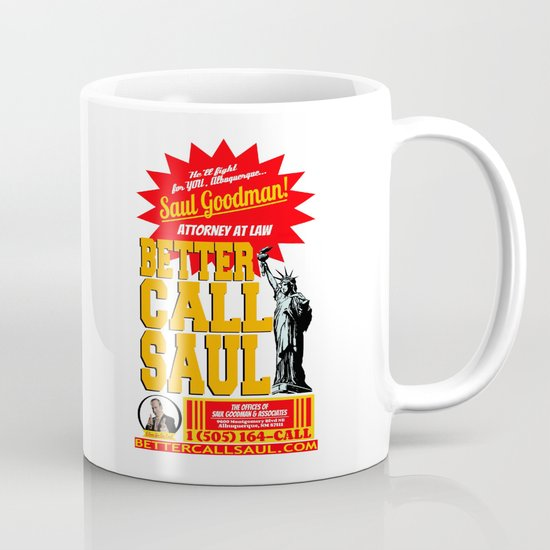 BETTER CALL SAUL  |  BREAKING BAD Mug