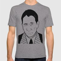 Carlo 'The Don' Gambino Mens Fitted Tee Athletic Grey SMALL