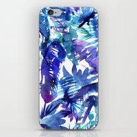 Vibe of the JUNGLE  {B-Blue} iPhone & iPod Skin