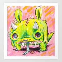 Spirit Animal: Subatomic… Art Print