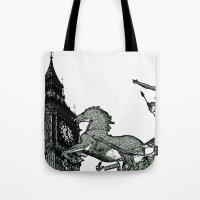 Big Ben And Boudica Tote Bag