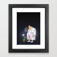 KWeb : Tony Soprano Framed Art Print