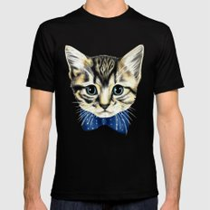 Un petit chaton SMALL Black Mens Fitted Tee