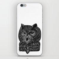 Cool owl iPhone & iPod Skin