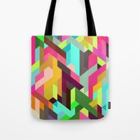 City 04. Tote Bag