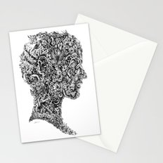Portrait of spring Stationery Cards