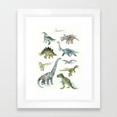 Dinosaurs Framed Art Print