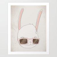 빠숑토끼 Fashiong To… Art Print