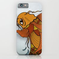 iPhone & iPod Case featuring Fish by David Stanfield