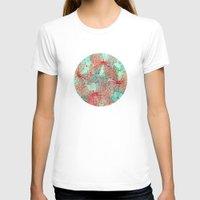 butterfly T-shirts featuring Butterfly Pattern by Klara Acel