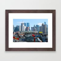 Old Timers  Framed Art Print