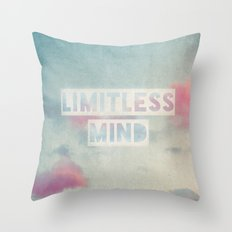limitless mind Throw Pillow