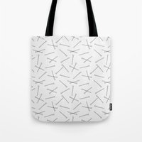 Hand Drawn Bobbi Pins Tote Bag