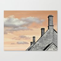 cloud factory... Canvas Print