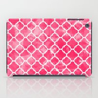 Moroccan Watermelon iPad Case