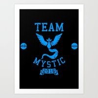 Team Mystic Art Print