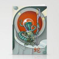 Astro Zodiac Force 06: S… Stationery Cards