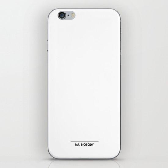 Mr. Nobody iPhone & iPod Skin