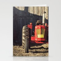 Sexy Tractor Stationery Cards