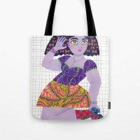Bow Girl Tote Bag