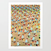 dance Art Prints featuring DANCE by Ben Giles