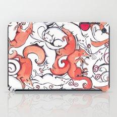Fox Pattern iPad Case
