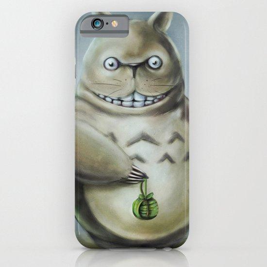 Miyazaki's Totoro - Totoros communis domestica iPhone & iPod Case