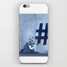 Grafitti # Diese Girl iPhone & iPod Skin