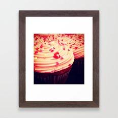 Cupcakes Framed Art Print
