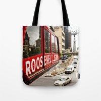 Roosevelt Island Sky Lif… Tote Bag