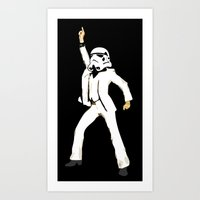 saturday night trooper _ star wars Art Print